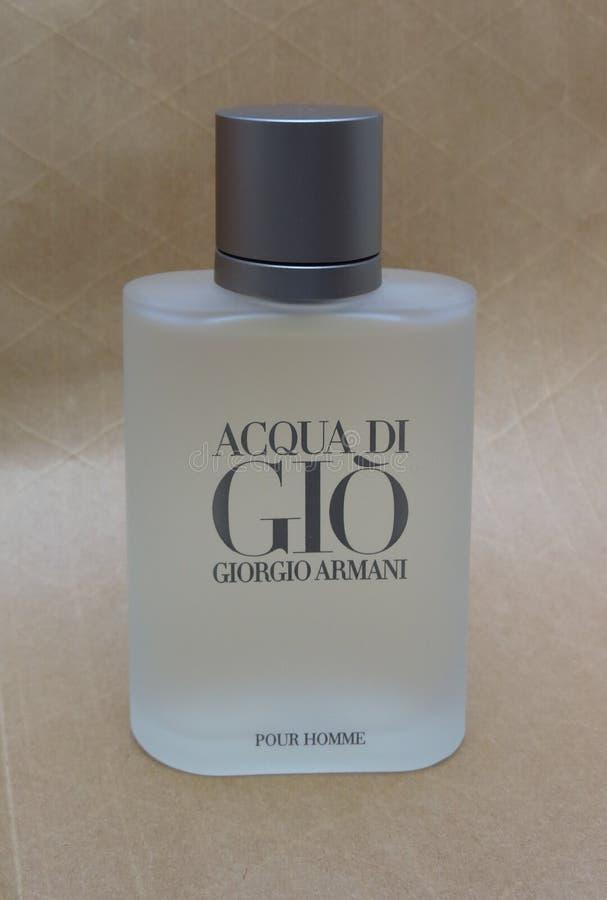 Fragrância de Acqua di Gio fotografia de stock