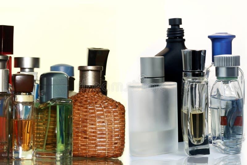 Fragrâncias do Mens fotos de stock