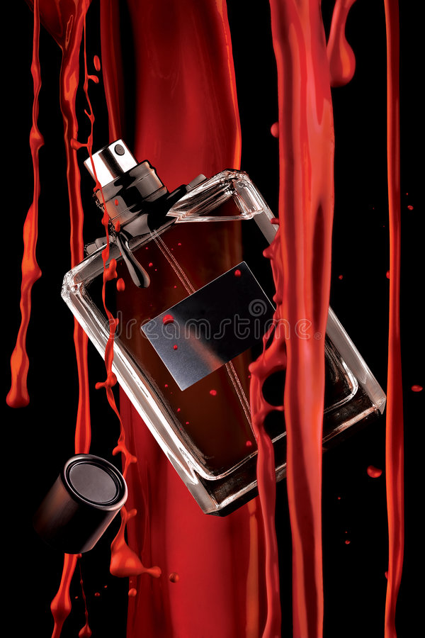 Fragrance of blood. royalty free stock photos