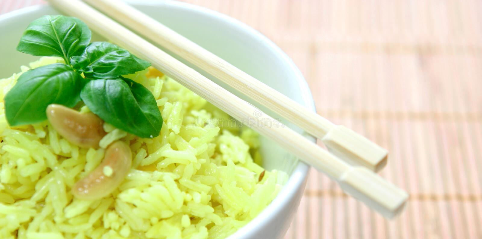 Download Fragrant yellow rice stock image. Image of catering, health - 3091689