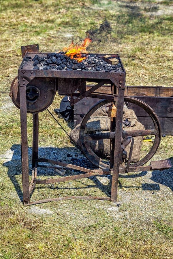 Fragua del herrero. foto de archivo libre de regalías
