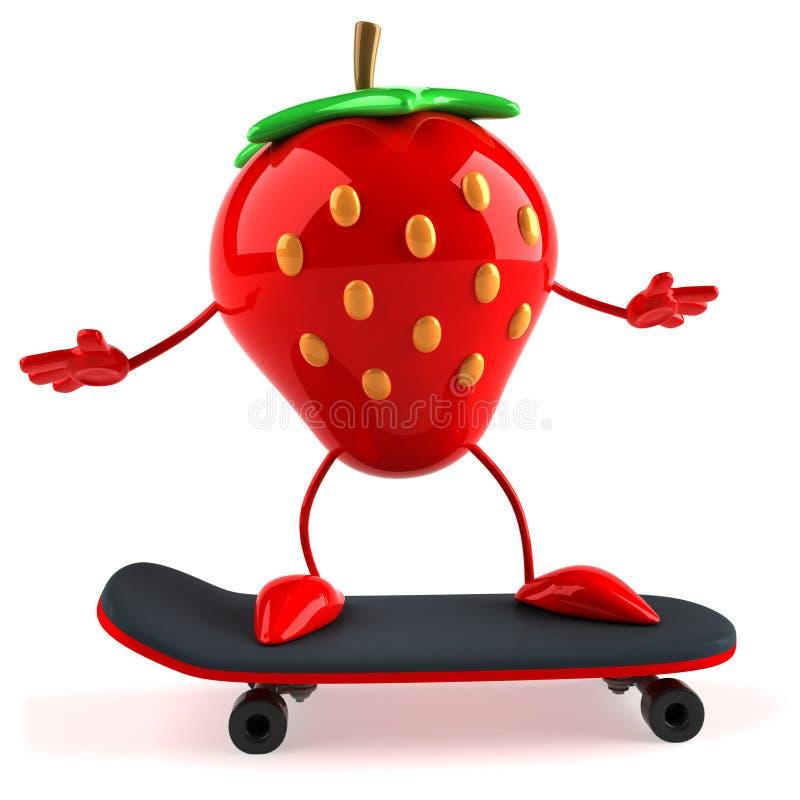 fraise illustration libre de droits