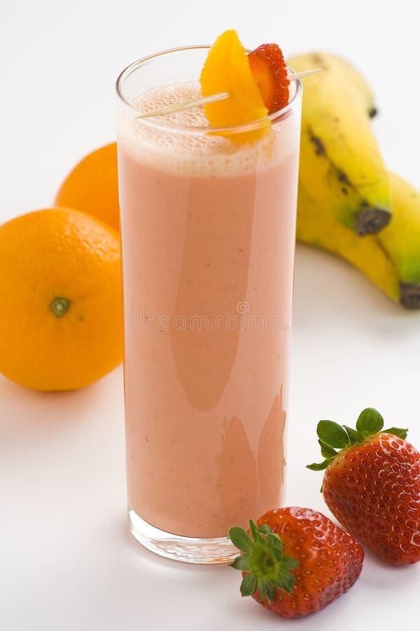 Download Fraise Délicieuse D'orange De Lait De Poule De Banane Photo stock - Image du juteux, nutrition: 8672004