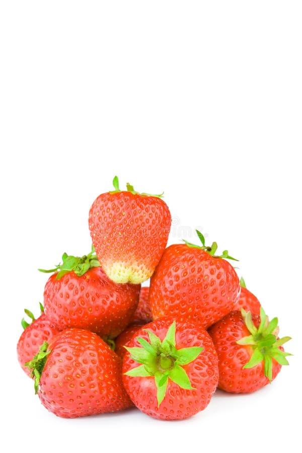 fraise d'isolement image stock
