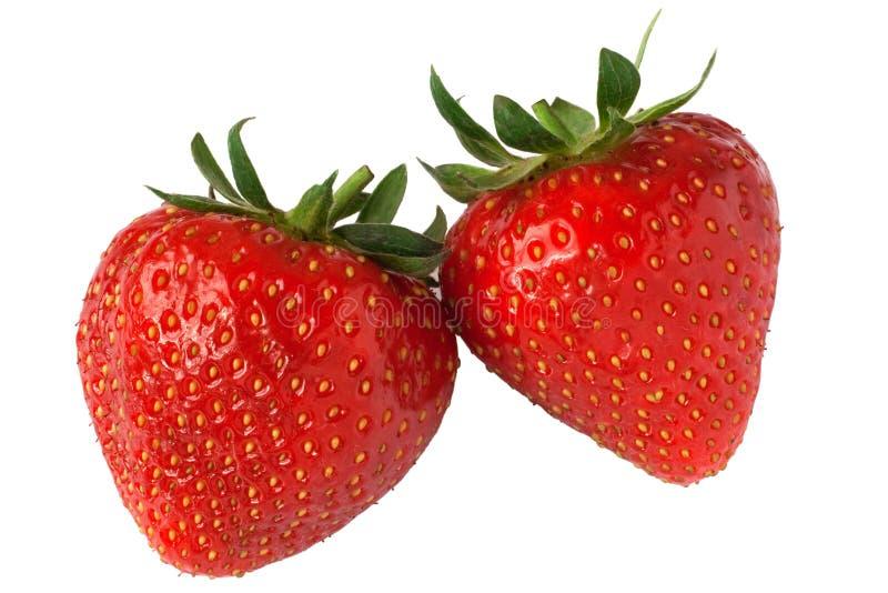 fraise de paires photo libre de droits