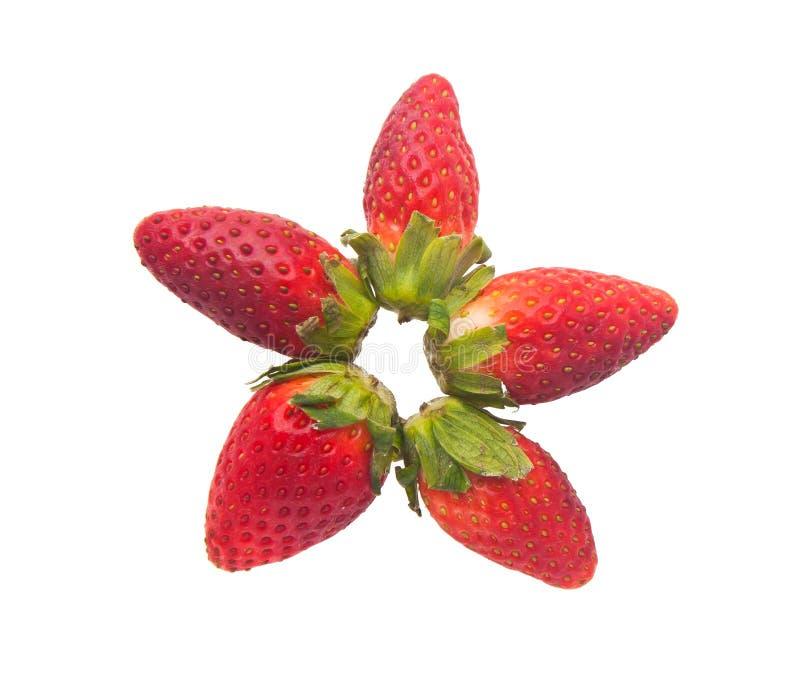 Fraise, fraise rouge fraîche sur le fond photographie stock