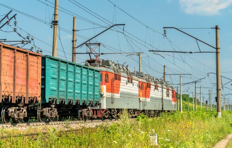 Frakta drevet i Ryssland arkivfoto