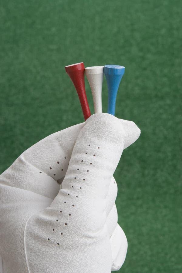 framåt golfspel fotografering för bildbyråer