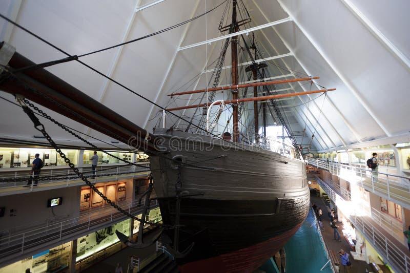 Fram museum, Oslo, Norge royaltyfri fotografi