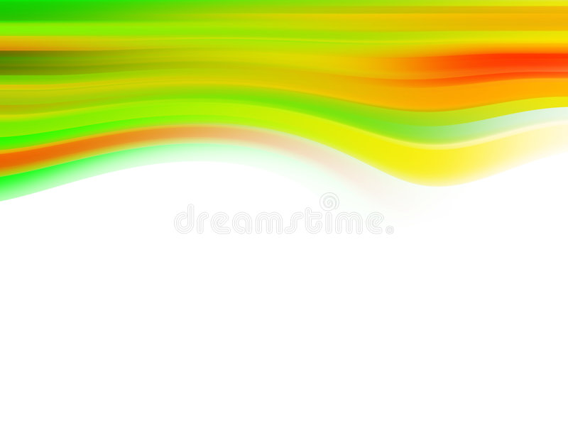 frambragd wave för bakgrund dator royaltyfri illustrationer