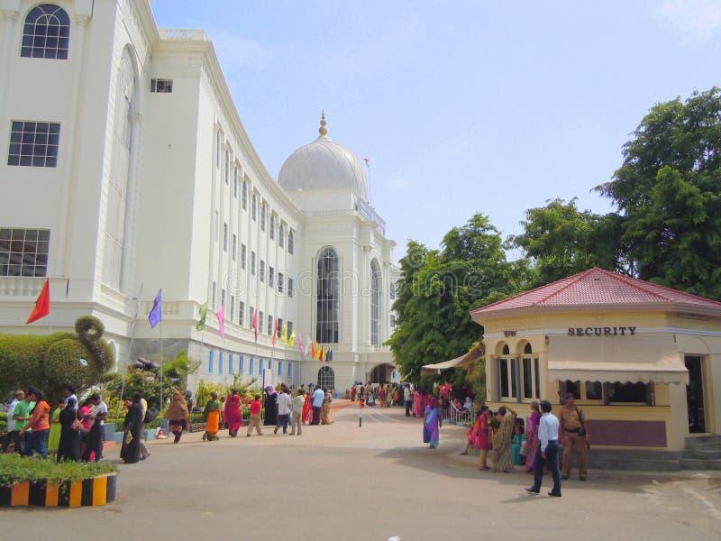 Framdel av stadsmuseet i Indien royaltyfria foton