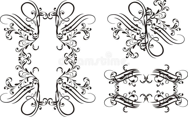 Download Frame 02 stock illustration. Image of pattern, beauty - 13323643