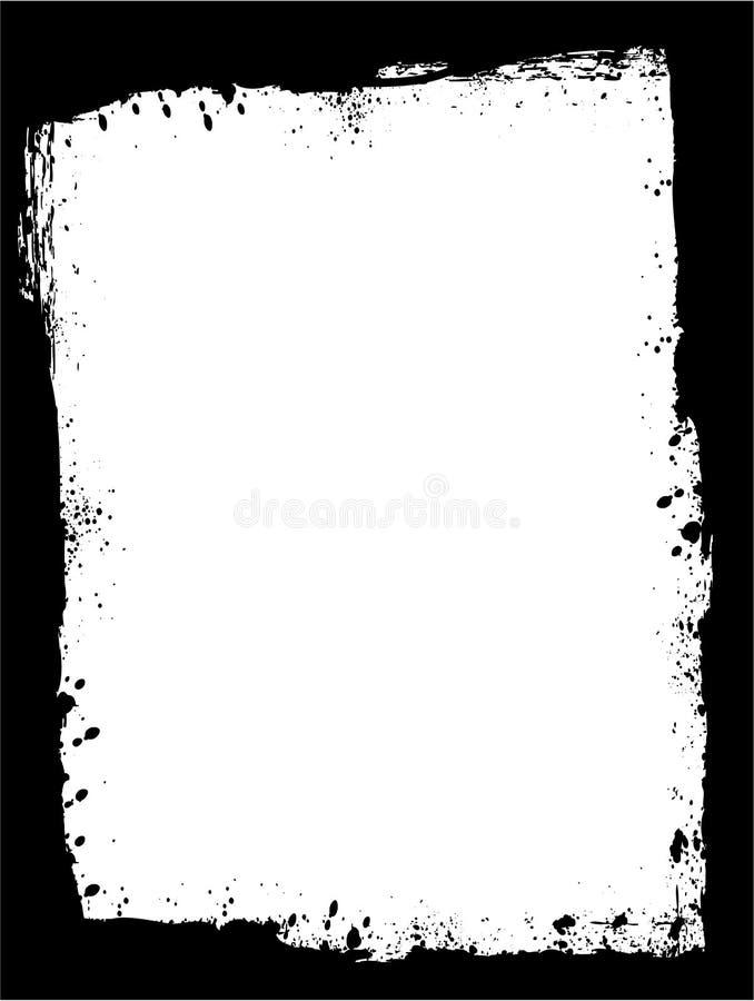 Frame 1 de Grunge ilustração stock