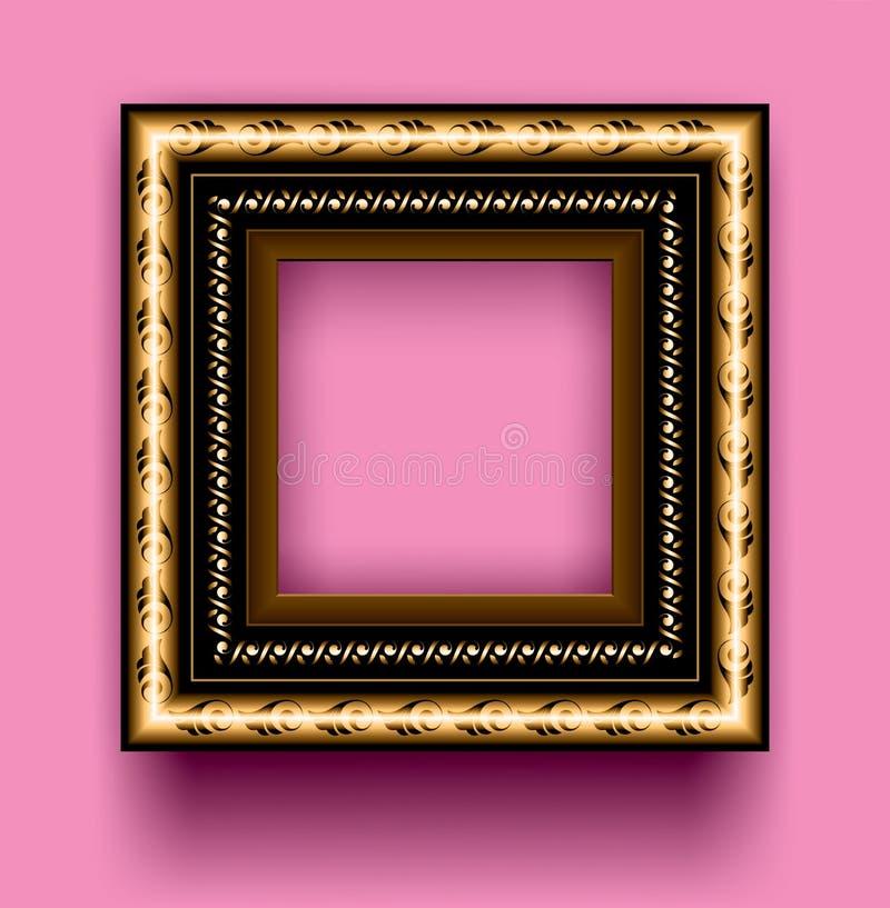 Download Frame stock vector. Illustration of image, gilding, decor - 10050601