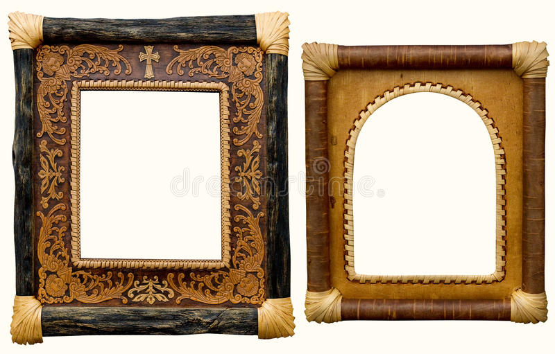 Frame. From the vine to the photo album stock photo