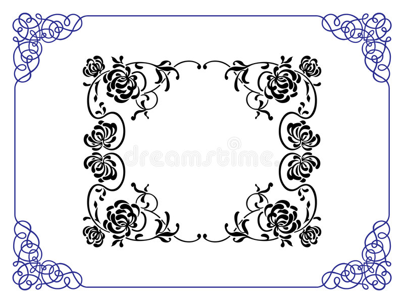 Download Frame stock illustration. Image of formal, headline, element - 1057939
