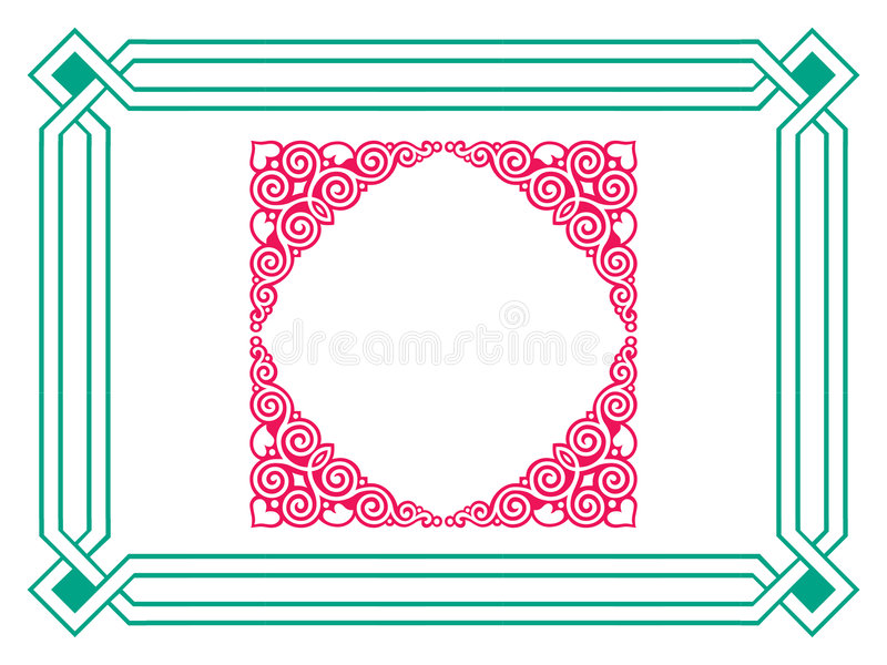 Download Frame stock illustration. Image of album, foliate, book - 1057942