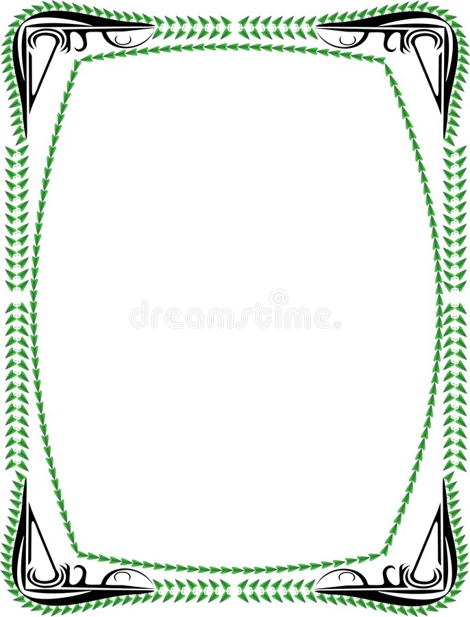 Download Frame stock vector. Illustration of border, fashioned, ornamentation - 248243