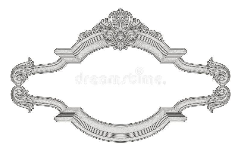 Download Frame stock vector. Illustration of antique, ornament - 25468600