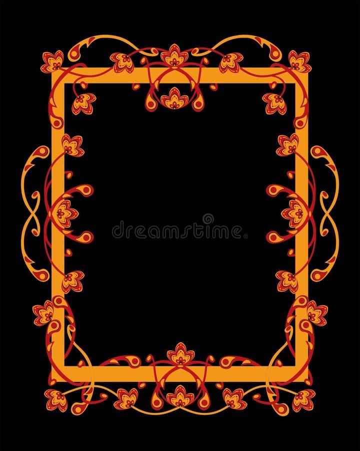 Download Frame stock vector. Image of frame, decoration, black - 25532072