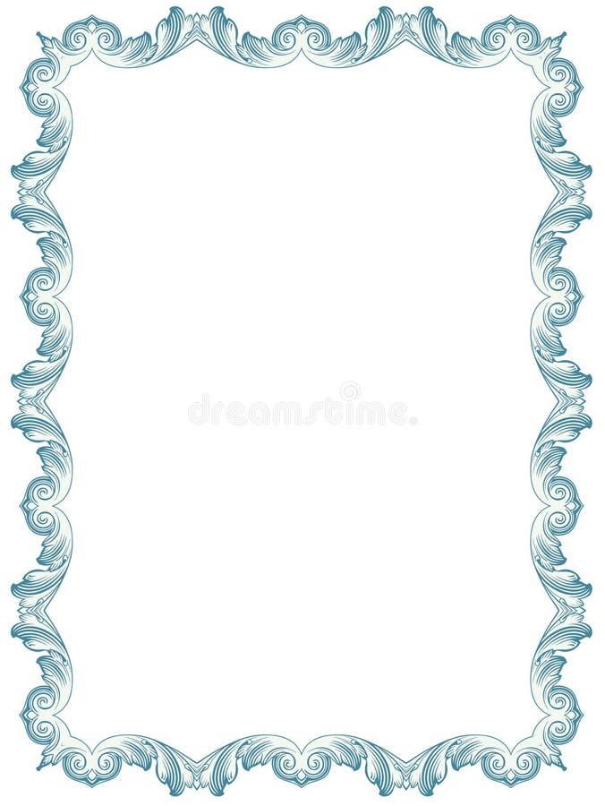 Download Frame stock vector. Illustration of greeting, floral - 27896657