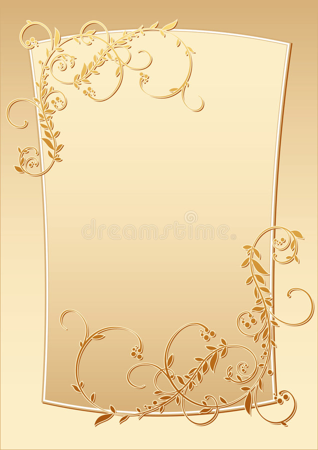Frame stock illustratie