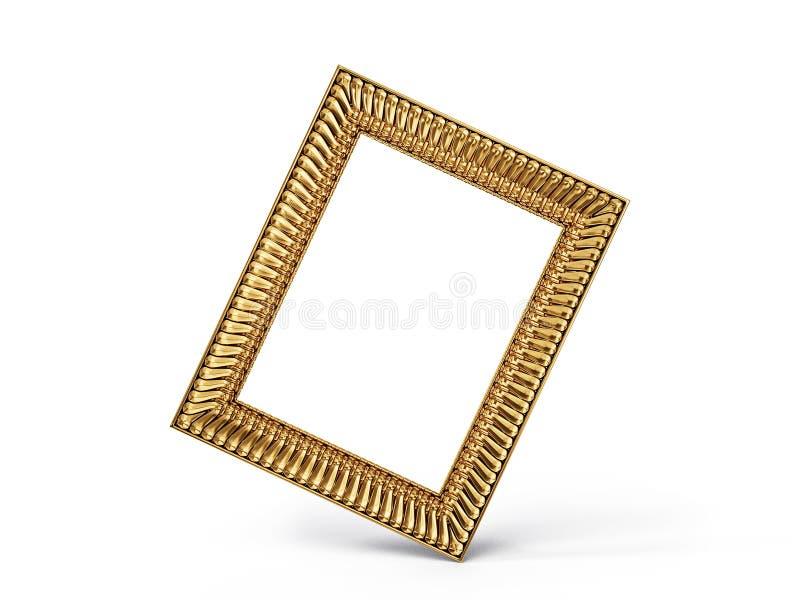 Frame. Vintage frame isolated on a white background vector illustration