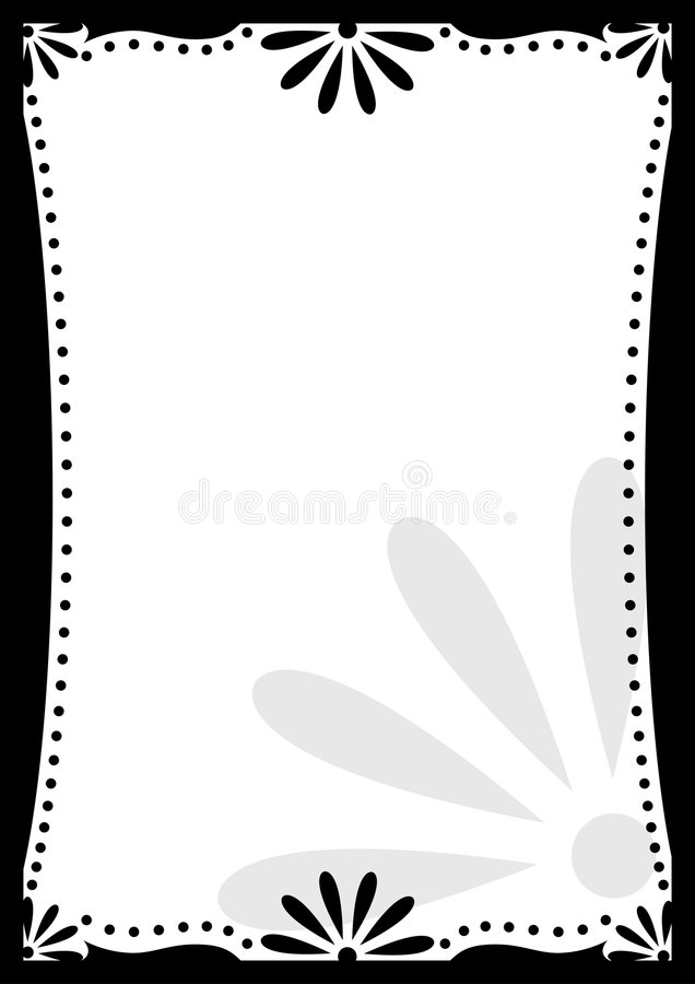 Download Frame stock vector. Illustration of black, ornament, curves - 2902712
