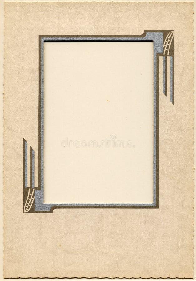 Frame 3 do vintage ilustração stock