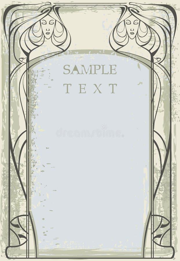 Frame stock illustration
