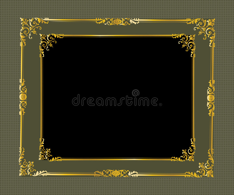 Frame 35 vector illustration