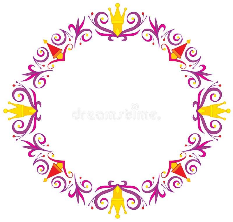 Frame. Vector clip-art / decorative frame for your design ideas royalty free illustration