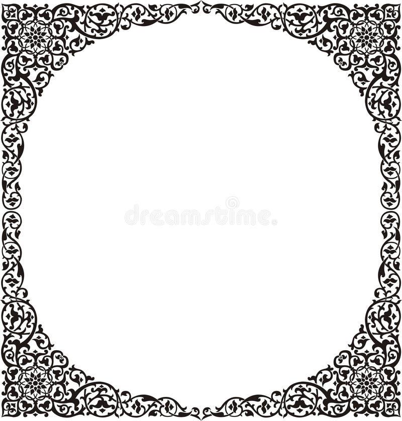 Frame 5 stock illustratie
