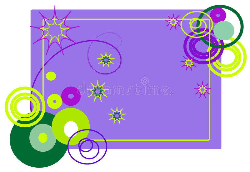 Download The Frame Of Abstract Shapes Stock Vector - Illustration of frame, stripe: 7622178