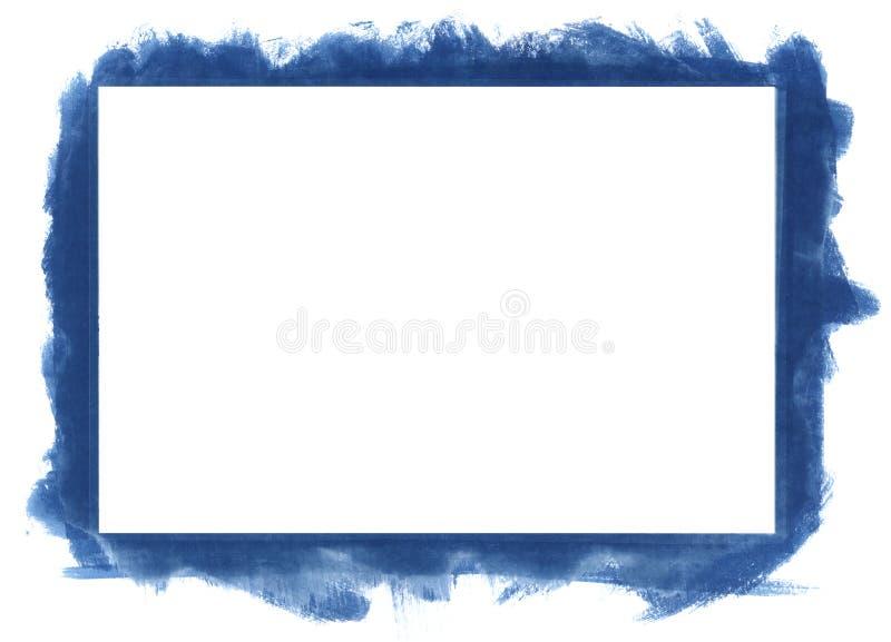 Frame abstrato de Grunge ilustração stock