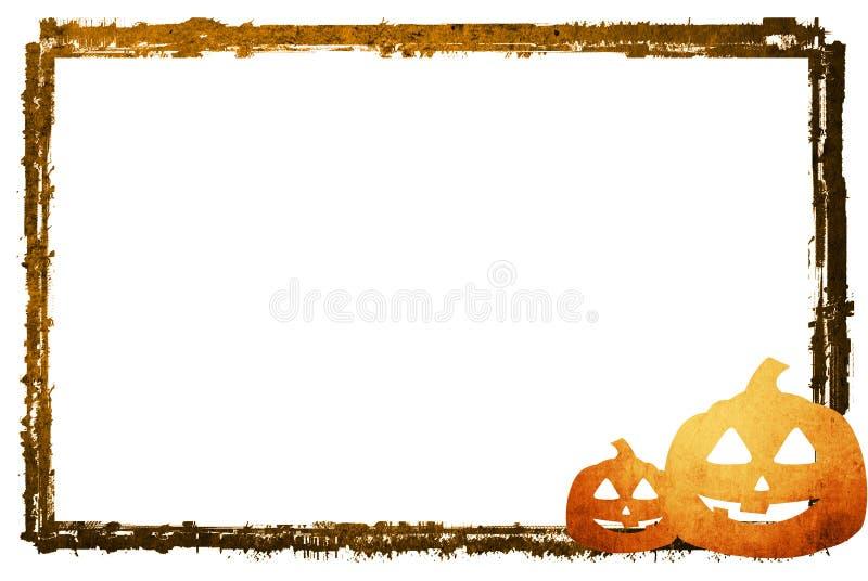 Frame abstrato de Halloween ilustração royalty free