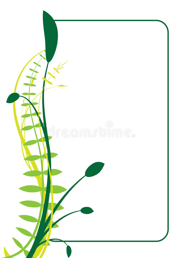 Frame abstrato do vetor ilustração royalty free