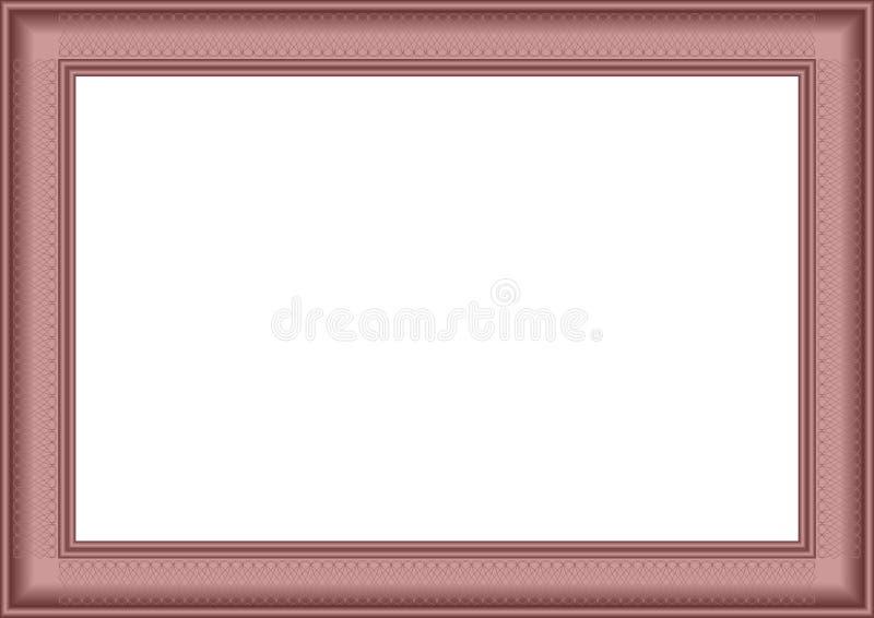 Frame agradável. ilustração royalty free