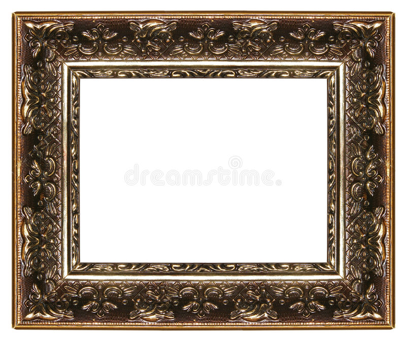 Frame antigo fotografia de stock