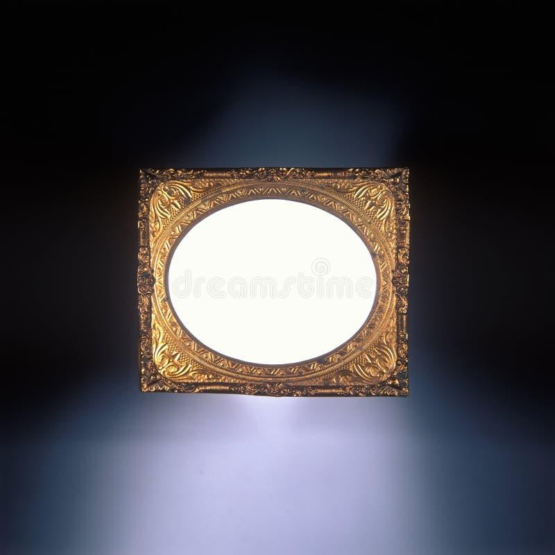 Frame antigo do ouro imagens de stock royalty free