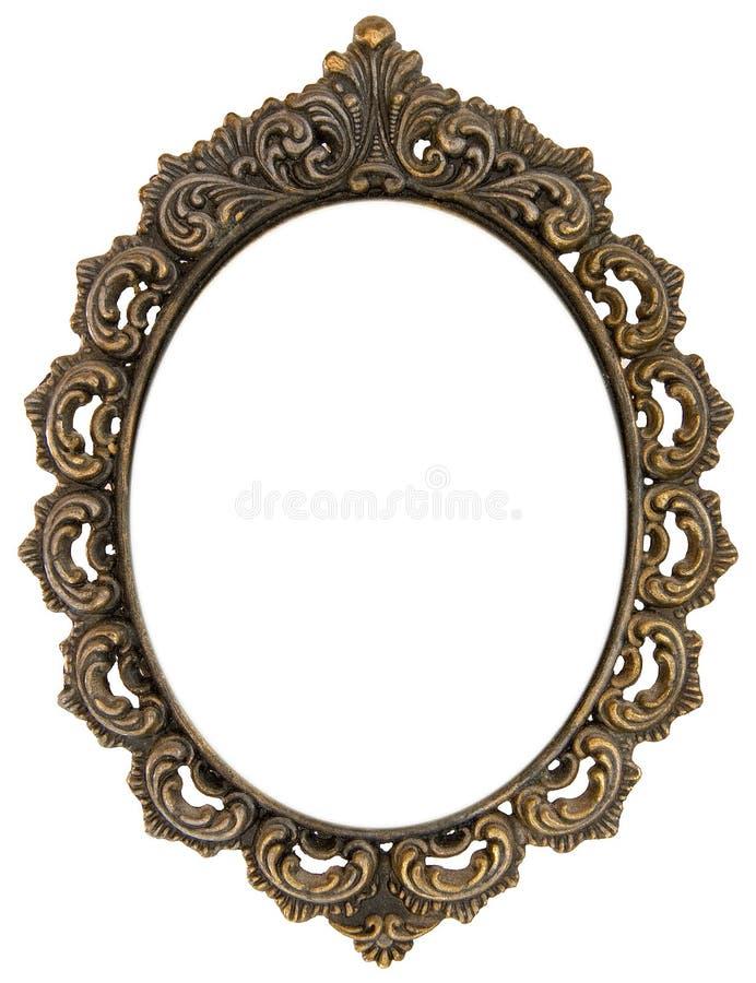 Frame antigo ornamentado imagem de stock royalty free