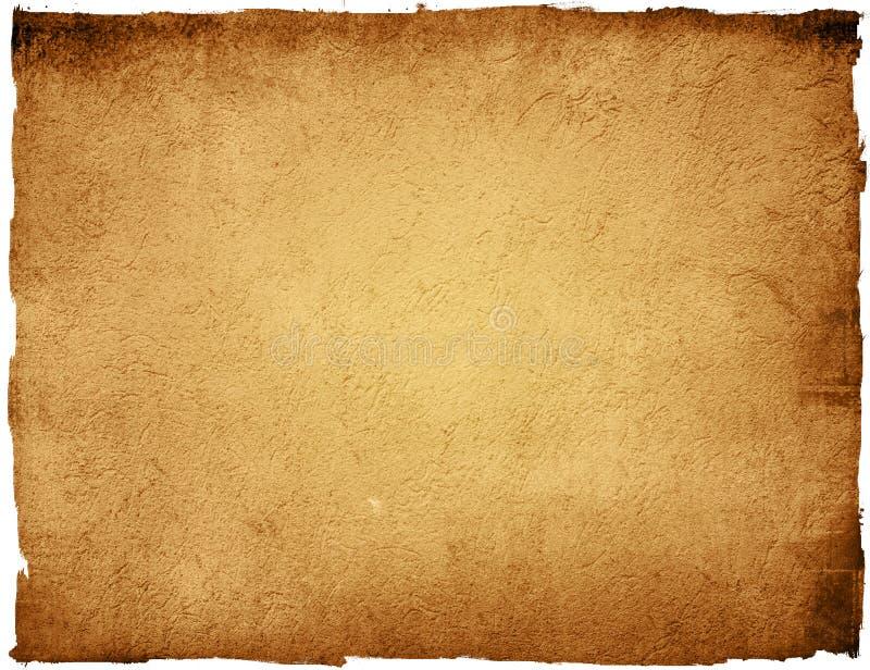 Frame antiquado de Grunge ilustração stock