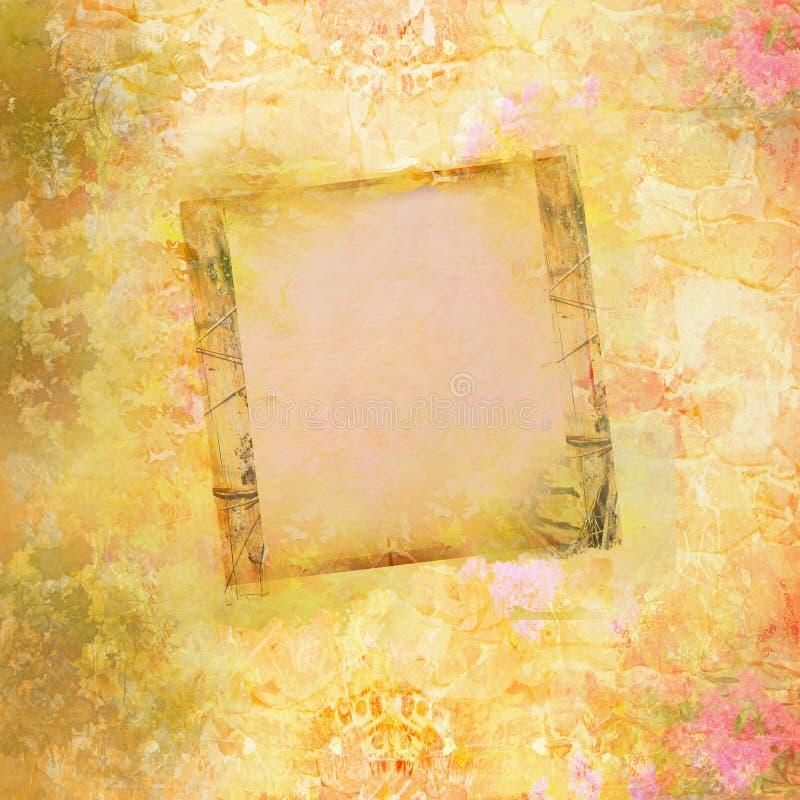 Download Frame on autumn background stock illustration. Image of paper - 34327435