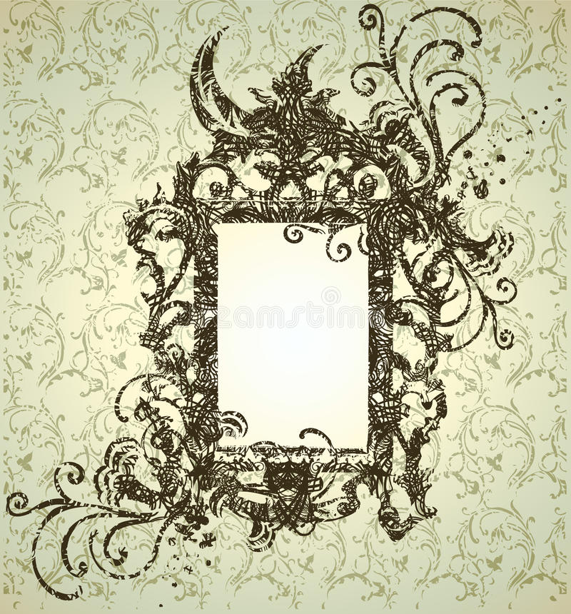 Download Frame With Autumn Leafs. Thanksgiving Stock Vector - Image: 15512166