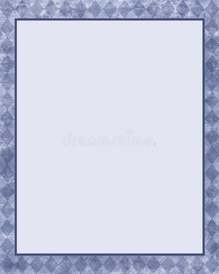 Download Frame azul do diamante ilustração stock. Ilustração de ilustrações - 532768