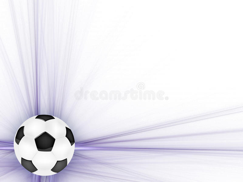 Frame With The Ball Stock Photography