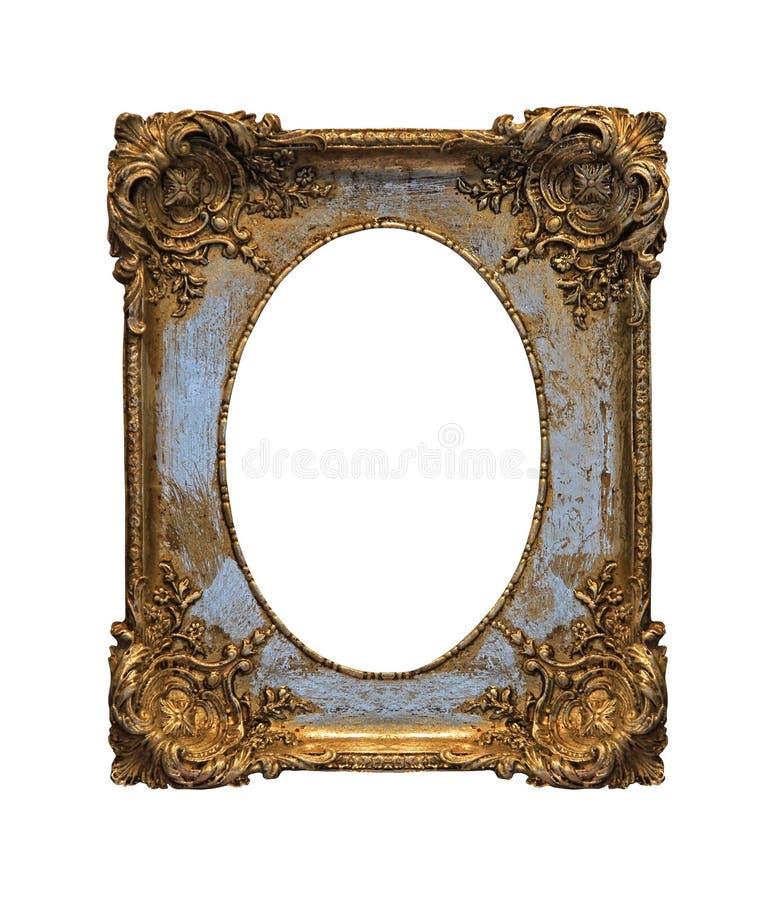 Frame barroco do grunge imagens de stock