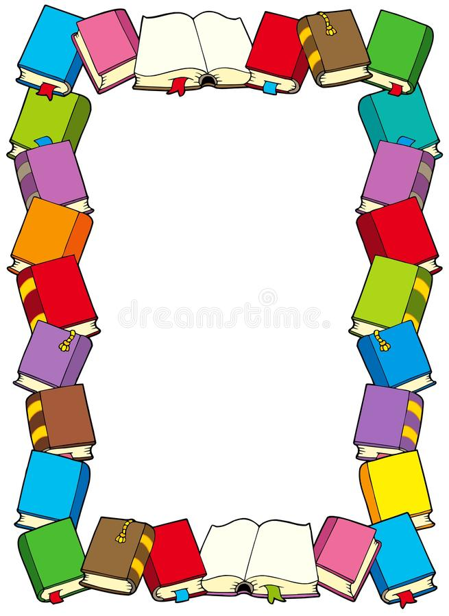 Download Frame From Books Stock Photo - Image: 10575870