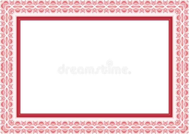 Frame Borde With Lovely Design And Cute Color Simple Elegant Blank Area Border