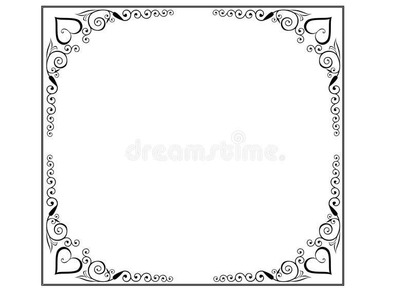 Frame And Borders Page Decoration Stock Vector - Illustration of ...
